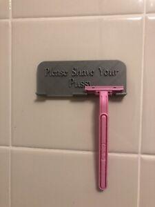 "shower razor holder ""Please Shave Your Pussy"" Organizer"