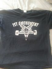 Vintage 1st Amendment Tattoo Shop T Shirt Suicidal Tendencies XL Rare
