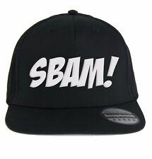 Cappello Sbam! Cappellino con scritta Divertente, Fumetti, Cartoni Animati