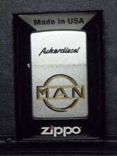 Zippo Sturmfeuerzeug MAN Logo High End Gravur