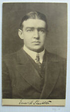 S2089) Sir Ernest Henry Shackleton Postcard with Autograph Back