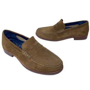 Cole Haan Classic Maine Mens Pinch Grand Penny Loafers Shoes Brown 8.5 M New