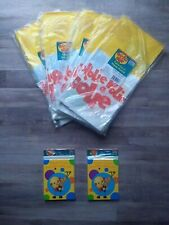 Rolie Polie Olie Party Supplies Lot - 5 Table Covers & 8 Thank You Notes 2 Packs