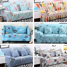 Stretch Elastic Slipcovers 1/2/3/4 Seater Sofa Cover Room Couch Armchair Cover