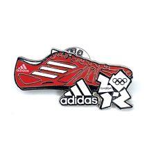 Adidas Olímpicos de Londres 2012 Pin Insignia ESMALTE Edición Limitada Raro Original LOCOG