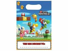 Super Mario Bros Party Gifts Loot Bags Kids Childrens Birthday Party Supplies
