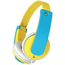 JVC HA-KD7-Y Children's Volume Limiting Lightweight Headphones HAKD7 Yellow