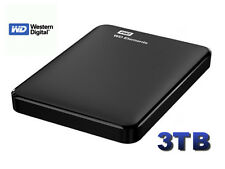 "HARD DISK ESTERNO 2,5"" WESTERN DIGITAL 3TB WD ELEMENTS 3 TB WDBU6Y0030BBK"