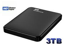 "HARD DISK ESTERNO 2,5"" WESTERN DIGITAL 3TB WD ELEMENTS 3 tb AUTOALIMENTATO"
