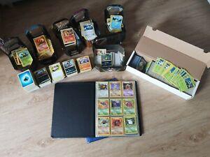 Große Pokémon Karten Sammlung - 1.Edition- Ordner - tin boxen 1998 base Fossil