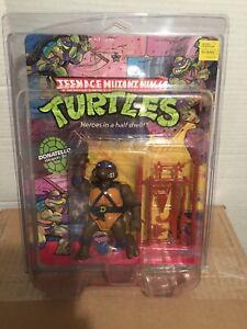 Teenage Mutant Ninja Turtles  Donatello, 1988, unpunched with clam shell