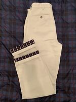 LL Bean Flannel Lined Natural Fit Chinos - Men's 32 x 34