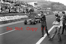 Jim Clark Lotus 25 Winner French Grand Prix 1965 Photograph 2