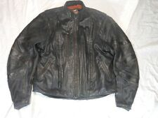 Harley Davidson Men's FXRG Black Leather Jacket size XL X Large