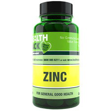 Zinc 15mg 90 Tablets, Boost immune system, hair skin nails, cognitive function