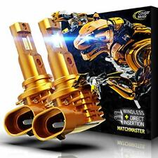 Cougar Motor Lite 9006 HB4 LED Headlight Bulb 10000Lm 6500K All-in-One Conver...