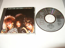 POINTER SISTERS - CONTACT -9 TRACK CD-1985-JAPAN cd Excellent
