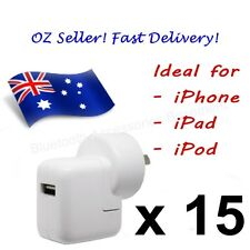 15 x AC Wall Charger for APPLE iPhone, iPad & iPod