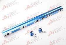 For Volvo850 S/V/C70 S60 XC70N V70N High Flow CNC Billet Aluminum Fuel Rail Blue