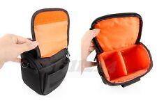 PENTAX X-5 Camera Camcorder Case Bag Shoulder Strap Memory Card Mobile Pocket