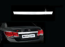 Chrome Rear Trunk Garnish Trim For 08 09 10 11 Chevy Cruze