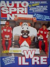 Autosprint 42 1984 Foto poster Brabham. Intervista Alboreto e Pininfarina sc.5