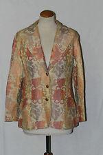 veste new issues jonathan logan t 44 peche beige etc coton pur vintage