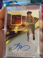 2019-20 Immaculate Kevin Porter Jr. Sneaker Swatch Premium Ed. Gold RPA /40
