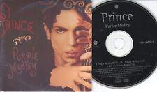 Prince  CD-SINGLE  PURPLE MEDLEY  (c)  1995 CARDSLEEVE