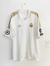 RONALDO,2011-12 UCL REAL MADRID HOME MATCH ISSUE UNWORN SHIRT SIZE XL