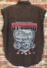 Men's XL Biker's Club Sturgis South Dakota Black Hills Rally 2009 Shirt 2-Sided