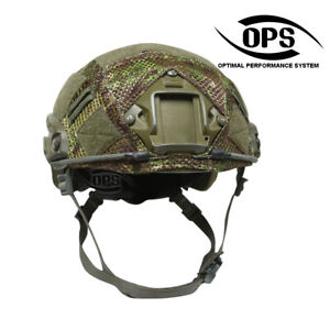 OPS Combat Mesh Helmet Cover for OPSCORE Ballistic High Cut PenCott GreenZone