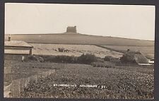 Postcard Abbotsbury near Weymouth Dorset view of St Catherine's posted 1931 RP