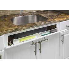 """11"""" Kitchen Sink Cabinet Tip Out White Tray Tilt Out  Sponge Holder Replacement"""