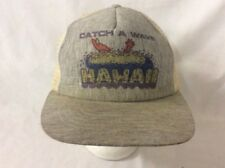 trucker hat baseball cap Catch A Wave Hawaii retro vintage rare rave travel cool