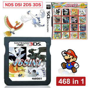 468 In 1 Games Game Multi Cartridge For DS NDS NDSL NDSi 3DS/2DS XL