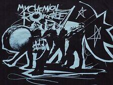 Vtg. MY CHEMICAL ROMANCE SKULLS PARADE Gerard Way Ray Toro Mikey Way T-SHIRT 2XL