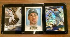 "AARON JUDGE 3 CARD PLAQUE NEW YORK YANKEES ""ALL RISE"""