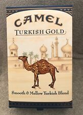 HUGE CAMEL TURKISH CIGARETTE BOX DISPLAY ADVERTISING SIGN NEW OLD STOCK