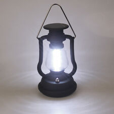 Hand Crank Dynamo Solar Panel 16 LED Light Camping Hiking Outdoor Lantern Lamp