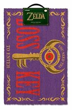Nintendo Legend of Zelda Purple Boss Key Durable Door Mat