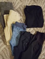 Old Navy lot of 5 pair size 4 pants & 1 knit shirt, asst styles
