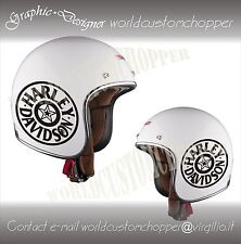 ADESIVO DECAL STICKERS REPLICA HARLEY DAVIDSON CASCO MOTO CUSTOM