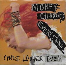 CYNDI LAUPER  Money Changes Everything 45 with PicSleeve