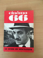 GUIDE SPECTATEUR CINEMA 66 N°111 Lino Ventura    E26