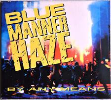 BLUE MANNER HAZE By any Means CD Sehr GUT erhalten DIGIPAK Kultstatus METAL Rap!