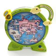 Vintage 3D See N Say Kids Around The World Learning Game 2 Sided Mattel Toy 2000