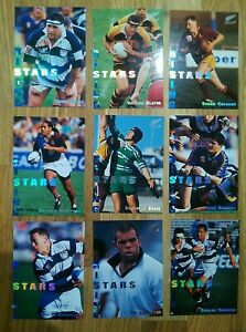 New Zealand All Blacks Rising Stars Inserts 1995 Dynamic Marketing