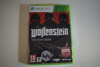 wolfenstein the new order xbox 360 xbox360 neuf sous blister