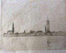 HERMANN STRUCK (1876-1944) , Original Lithograph, Landscape, Signed